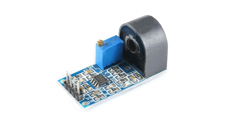 Трансформаторный датчик тока ZMCT103C 5A регулируемый