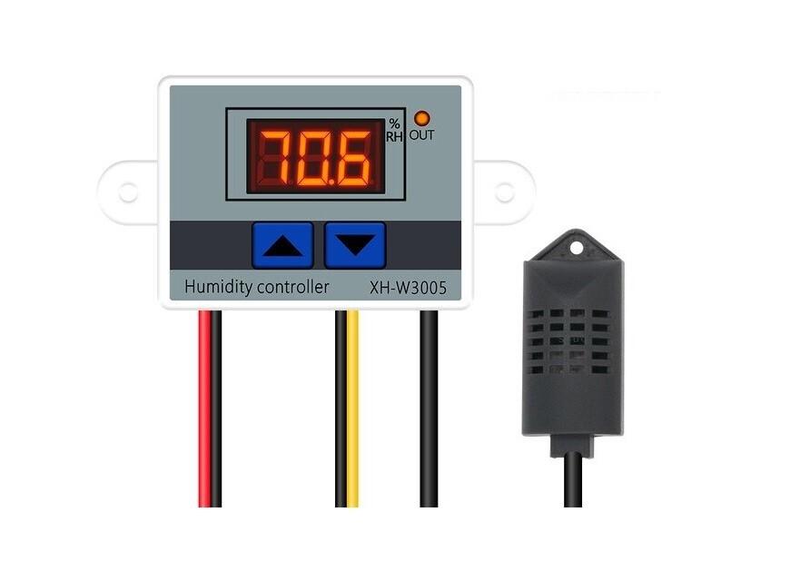 Терморегулятор 220V ВXH-W3005 цифровой светодиодный 10A термостат/гигрометр