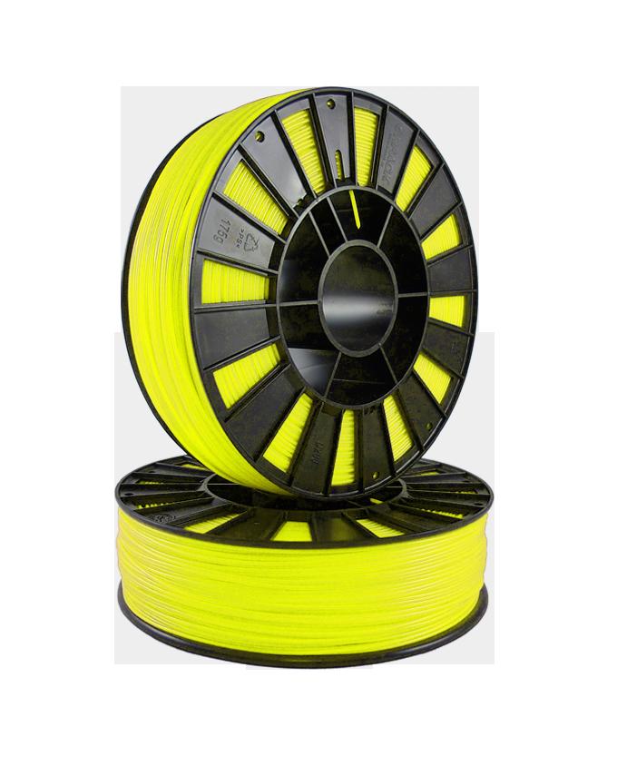 PETG пластик SEM 1,75 желтый прозрачный