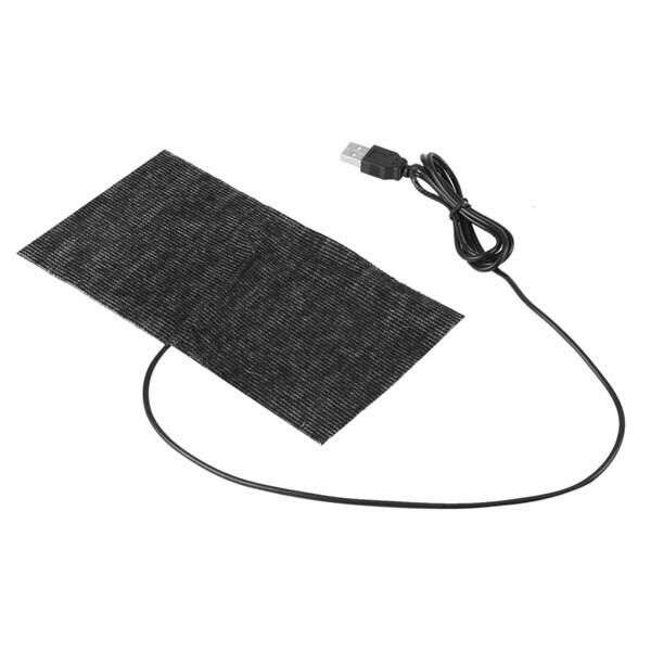 Электрическая грелка 5V USB, 20x15см, 1шт