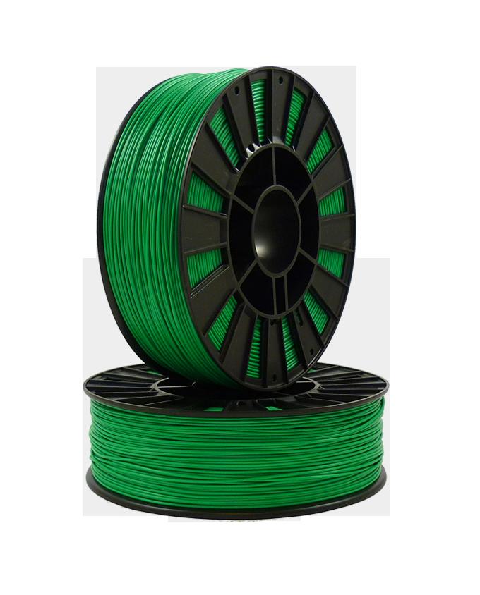 PETG пластик SEM 1,75 зеленый прозрачный