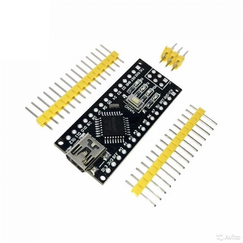 Arduino Nano V3.0 Mini USB ATmega168 5V 16M Black