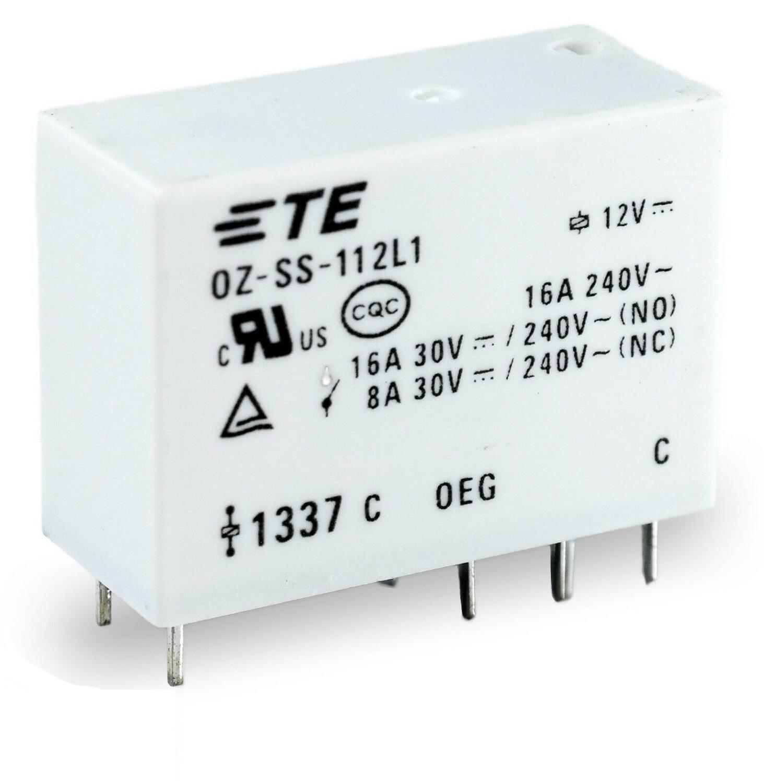 Реле OZ-SS-112L1 8 контактов 12В 16А