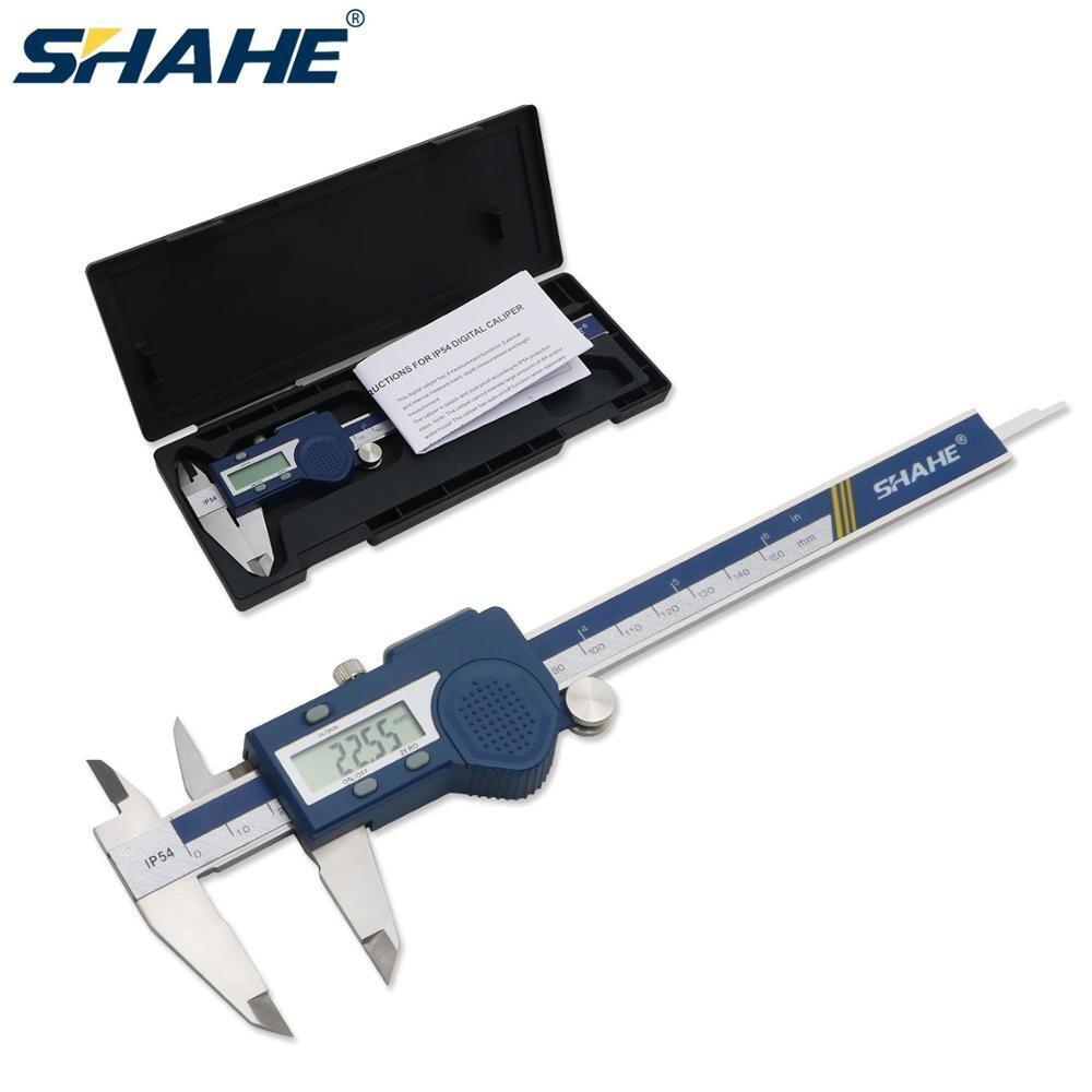 Штангенциркуль электронный цифровой 150мм сталь SHAHE