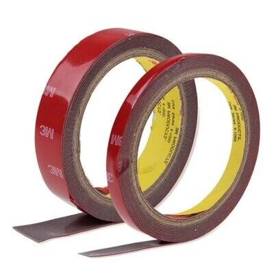 Скотч двусторонний (клейкая лента) 3M 10 мм х 3 м