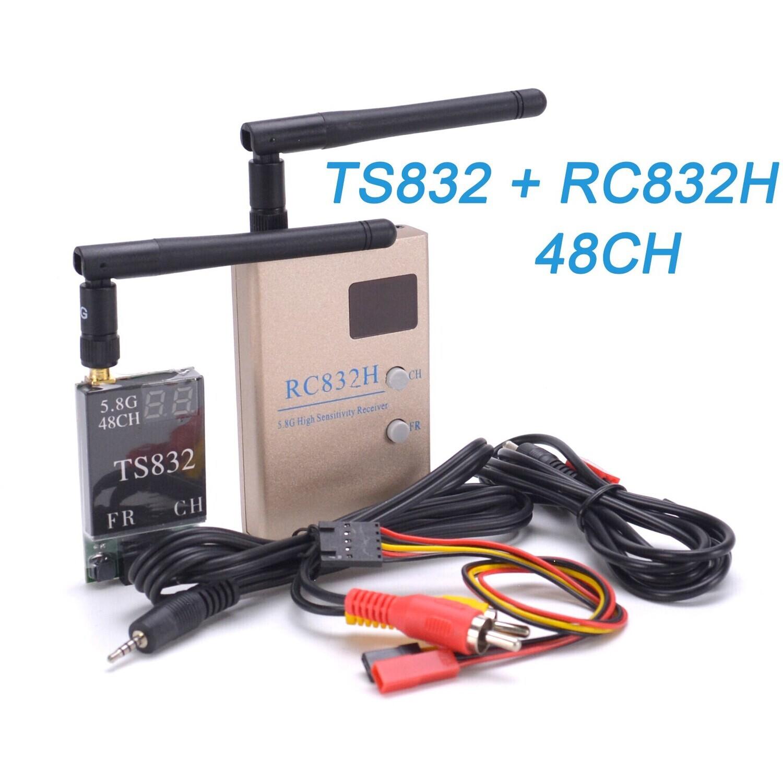 AKK TS832+RC832 5.8G 48CH 5000M диапазон FPV аудио-видео передатчик и приёмник для FPV дрона