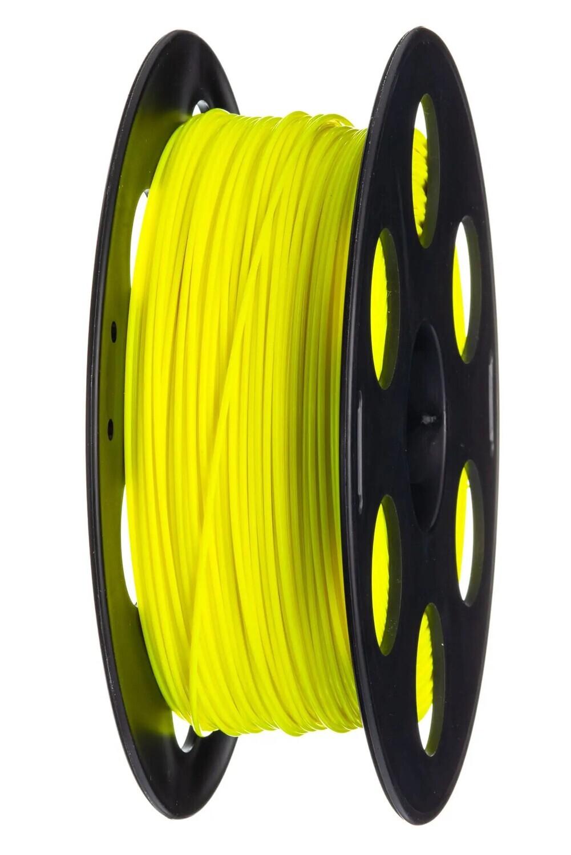 PLA пластик FDplast 1.75 «Меч джедая», флуоресцентный Неоново-желтый