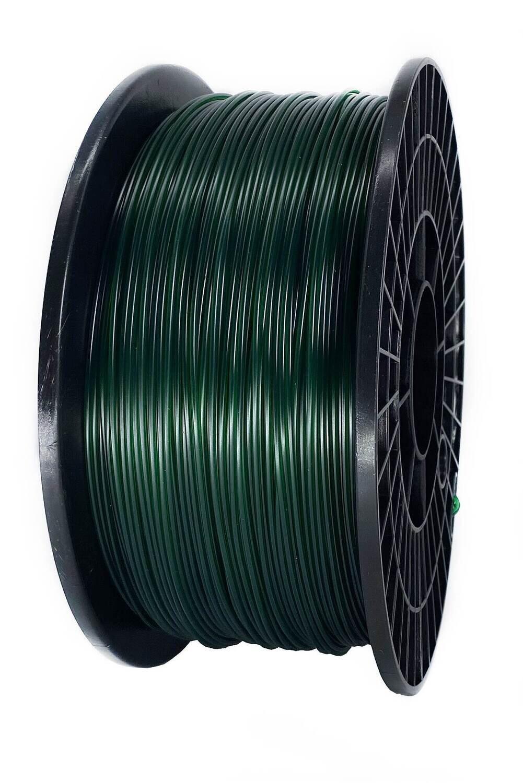 PETG пластик FDplast 1.75 «Советское шампанское» Темно зеленый полупрозрачный