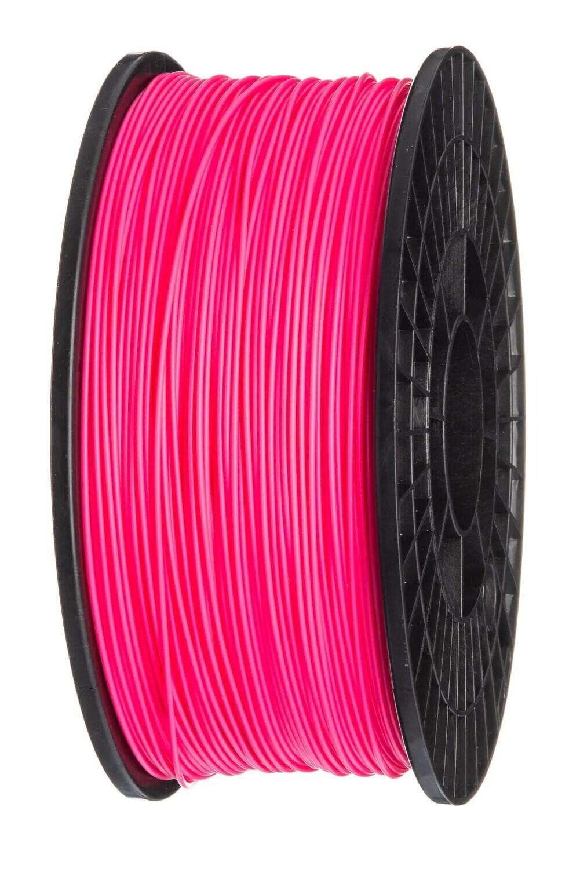 ABS пластик FDplast 1.75 «Яркий пион», Розовый флуоресцентный