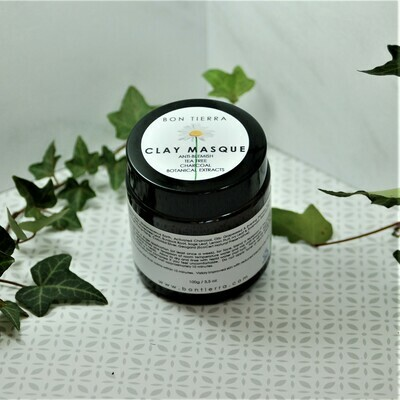 FACE MASQUE - ANTI BLEMISH, TEA TREE, CHARCOAL & BOTANICAL EXTRACTS 100g