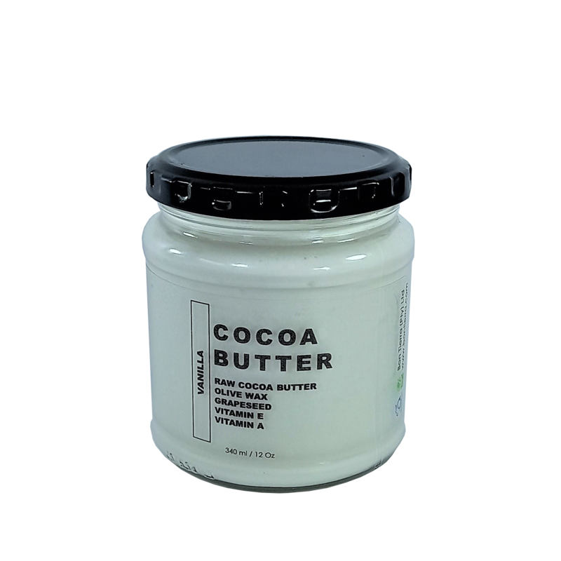 COCOA BUTTER WITH VANILLA 340ml