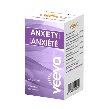 Anxiety Formula (60 or 120 Vcaps)