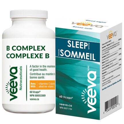 Chronic Insomnia Kit | Sleep Formula 60s and B Complex 60s