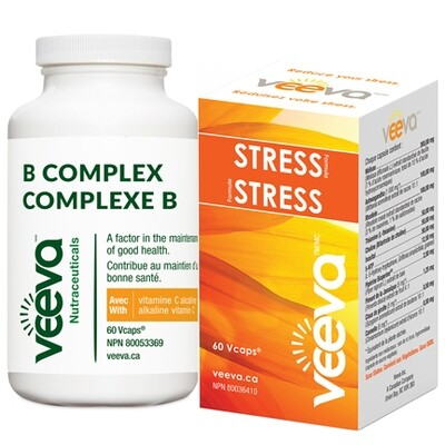 Chronic Stress Kit | Stress Formula 60s and B Complex 60s