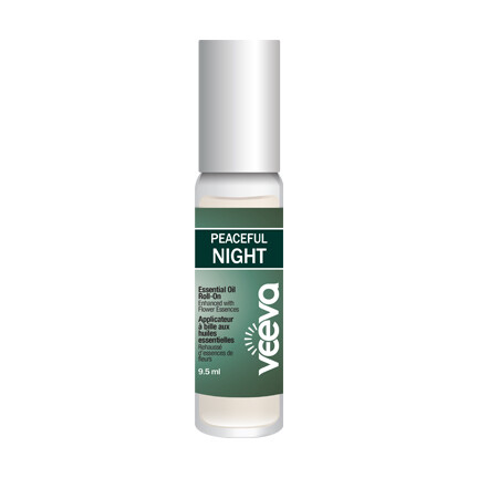 Essential Oil Roll-On, enhanced with flower essences - Peaceful NIGHT 9.5 ml