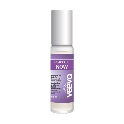 Aromatherapy Roll-On, enhanced with flower essences - Peaceful NOW (formerly called Anxiety) 9.5 ml