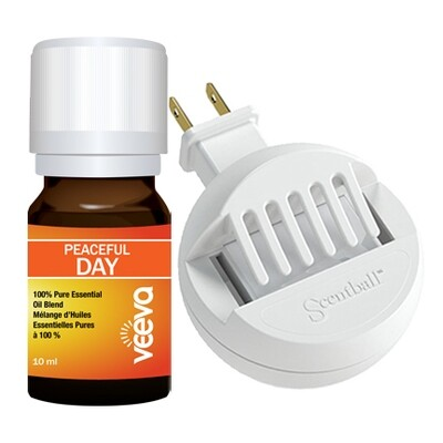 Peaceful DAY (formerly called Stress) Diffuser Kit