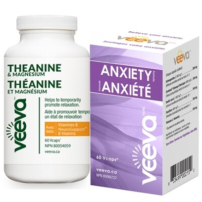 NEW! Triple Action Anxiety Kit | Anxiety Formula 60s and Theanine & Magnesium 60s