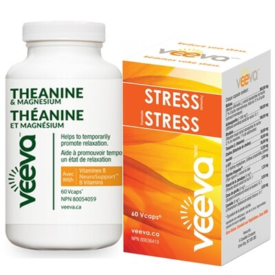 NEW! Triple Action Stress Kit | Stress Formula 60s and Theanine & Magnesium 60s