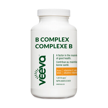 NEW B Complex with Alkaline C 120 Vcaps