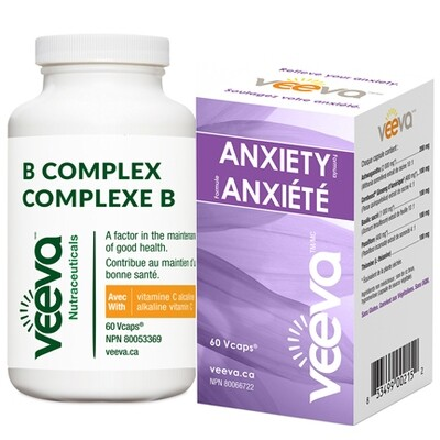 Chronic Anxiety Kit | Anxiety Formula 60s and B Complex 60s DUO PACK