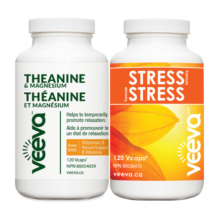 BEST VALUE   Stress Formula 120s and Theanine & Magnesium 120s DUO PACK