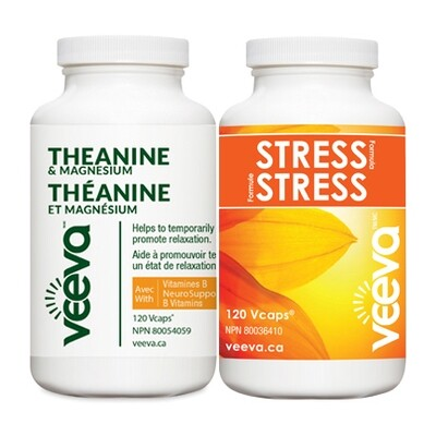 BEST VALUE | Stress Formula 120s and Theanine & Magnesium 120s