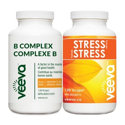 BEST VALUE | Stress Formula 120s and B Complex 120s