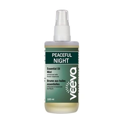 Essential Oil Mist, enhanced with flower essences - Peaceful NIGHT 100 ml