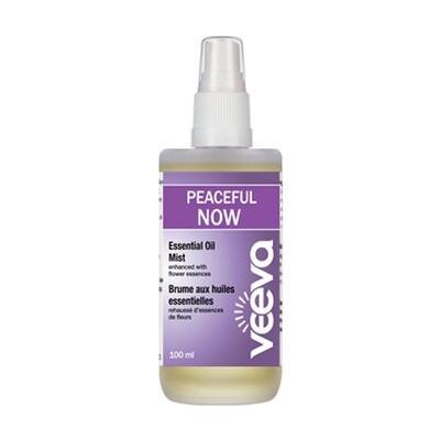 Essential Oil Mist, enhanced with flower essences - Peaceful NOW 100 ml