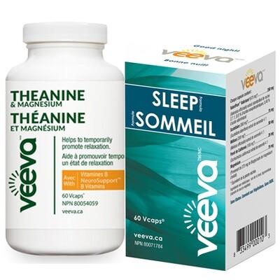 NEW FOCUS and SLEEP AM/PM Kit | Theanine 60s and Sleep Formula 60s