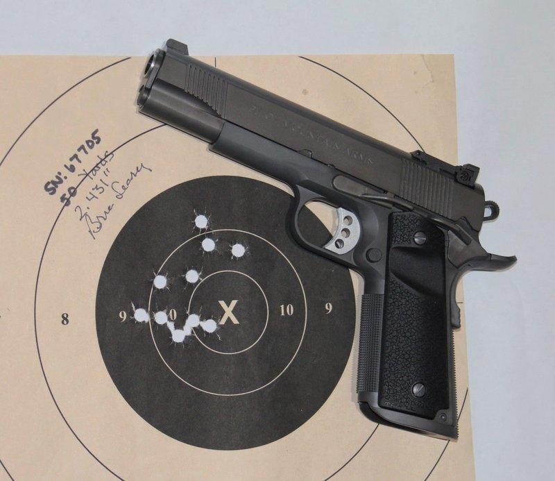 "Pilot Mountain Arms Operator Model 5"", .45cal, 1911 Pistol"