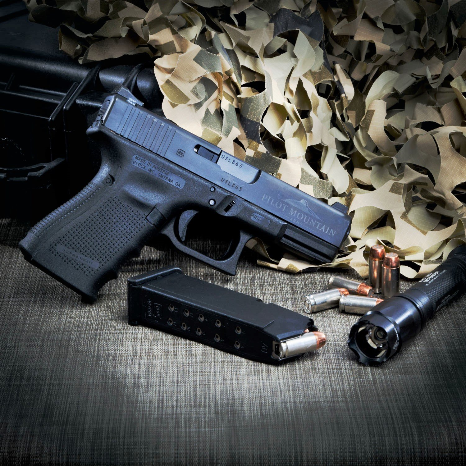 Pilot Mountain Arms Concealed Carry Model, GLOCK® 19/23 Pistol