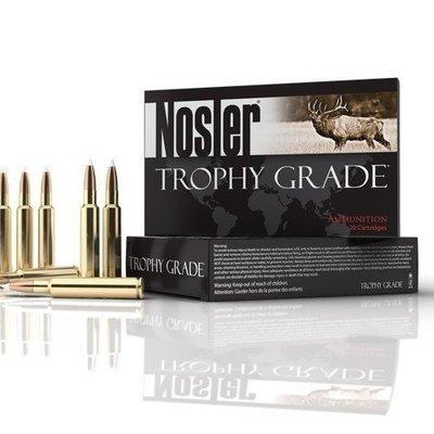 Nosler Trophy Grade Ammunition 300 Winchester Magnum 200 Grain Partition