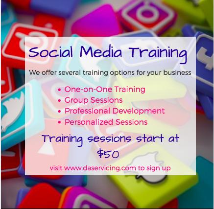 Social Media Training Session