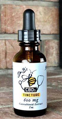 Tincture, 600mg., Citrus Honey