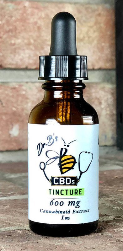 Tincture, 600mg., Natural