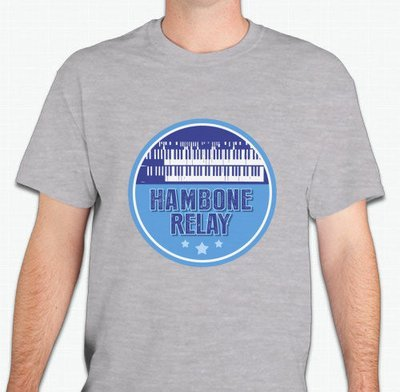 Hambone Relay Logo Shirt (Grey)