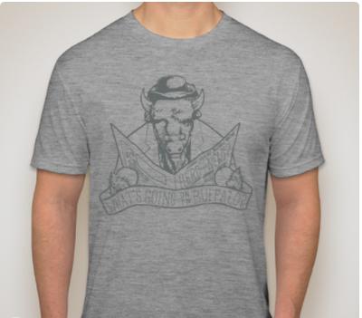 Men's Crew Neck T-Shirt - Grey