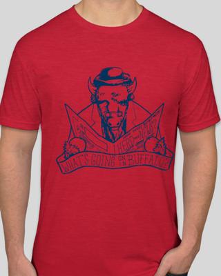 Men's Crew Neck T-Shirt - Red
