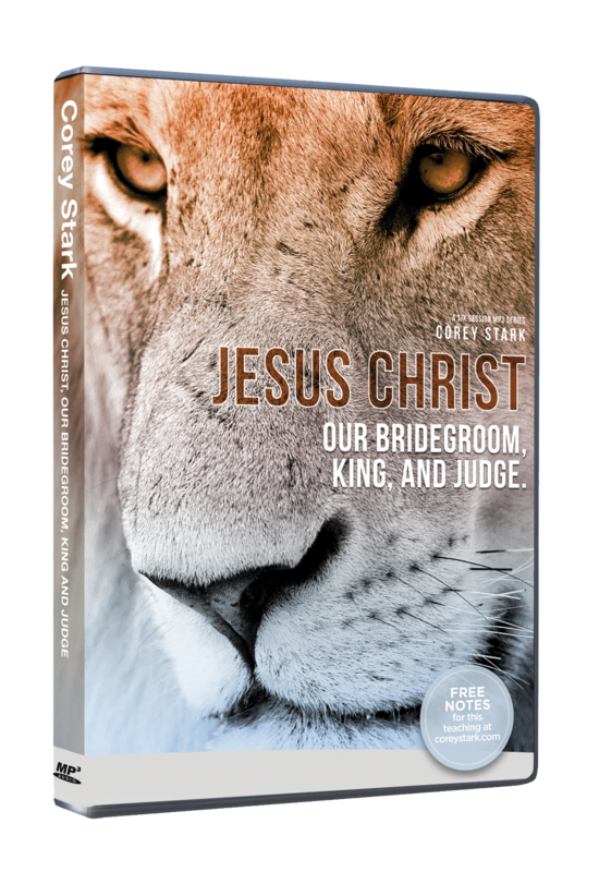 Jesus Christ - Our Bridegroom, King, and Judge (6-Part MP3-CD Series)