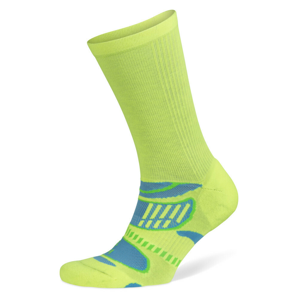 Balega UltraLight Crew Neon Lime