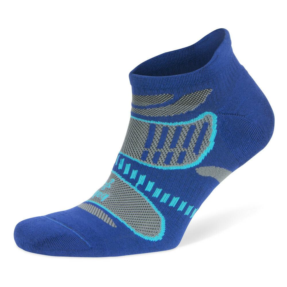 Ultra Light No Show Technical Running Sock - Cobalt