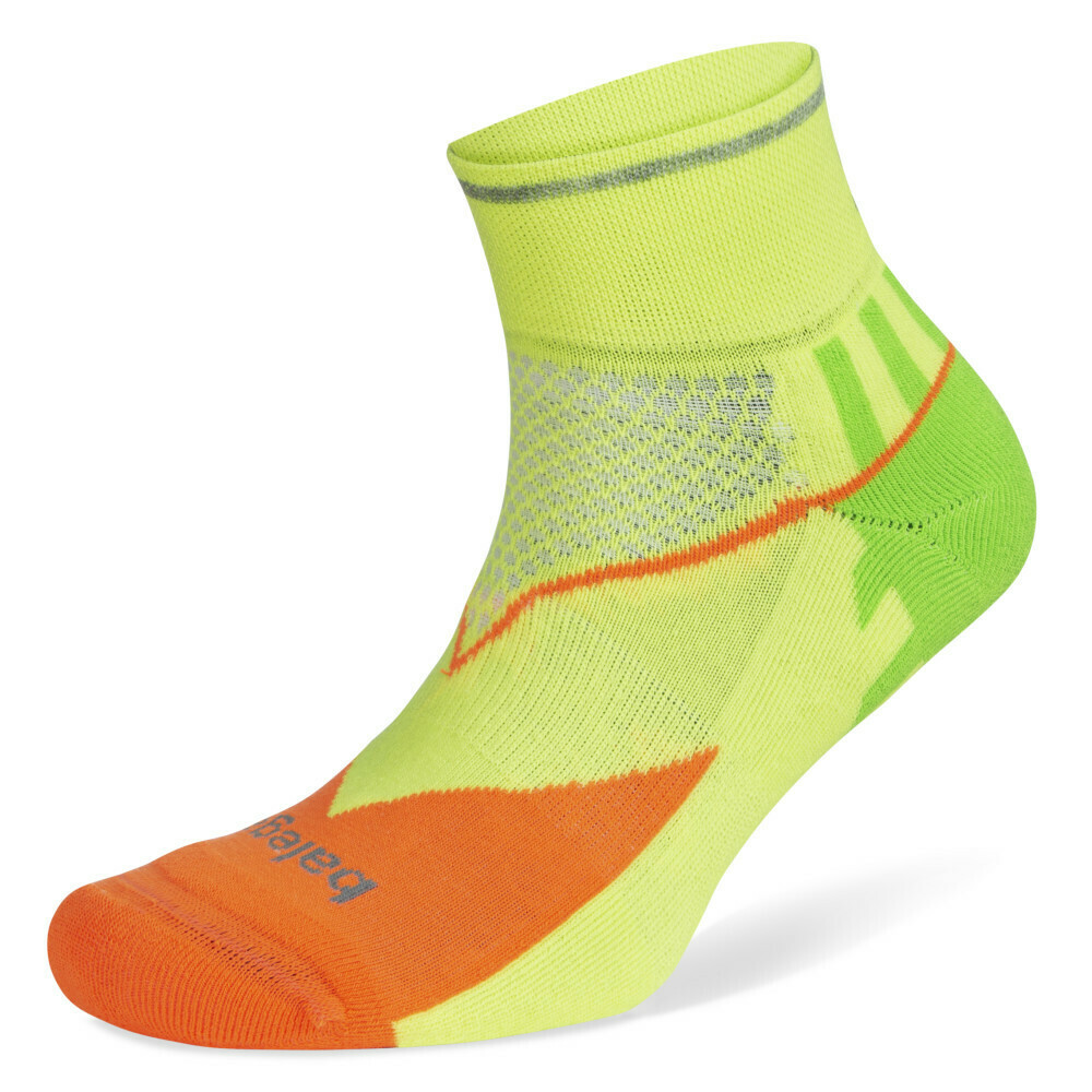 Enduro Reflective Quarter: Multi Neon