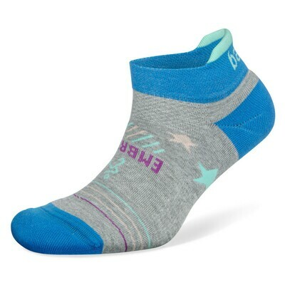 Balega Embrace Kindness Grey/Turquoise