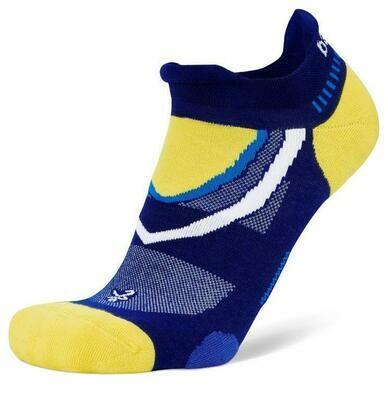 Balega UltraGlide Royal Blue/ Yellow