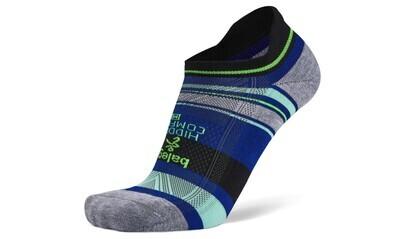 Hidden Comfort Stripe: Black/Blue