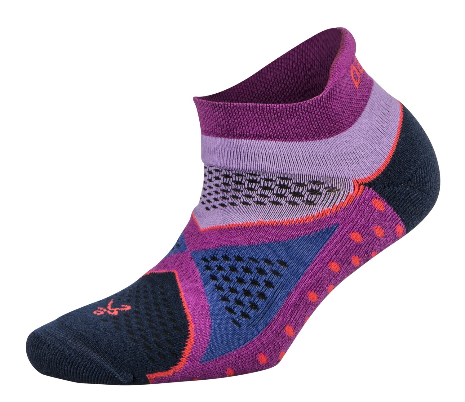 Womens Enduro NoShow Socks Lilac/Berry