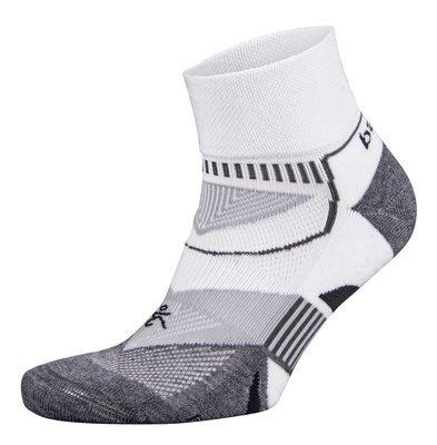 Enduro Quarter Socks White/Grey