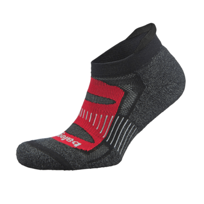 Blister Resist NoShow Sock Red/Black